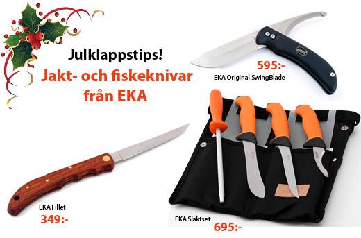 nya jakt- och fiskeknivar, slaktknivar