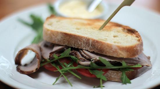 Toasted Sandwich rökt fläskfilé